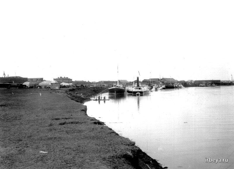 Река Ница, Ирбит, 19 век